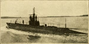 submarine around the time of World War One