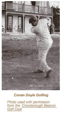 Conan Doyle Golfing