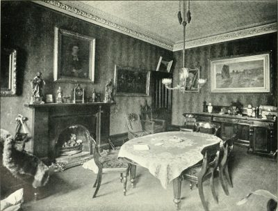 The victim's room in the Oscar Slater Case