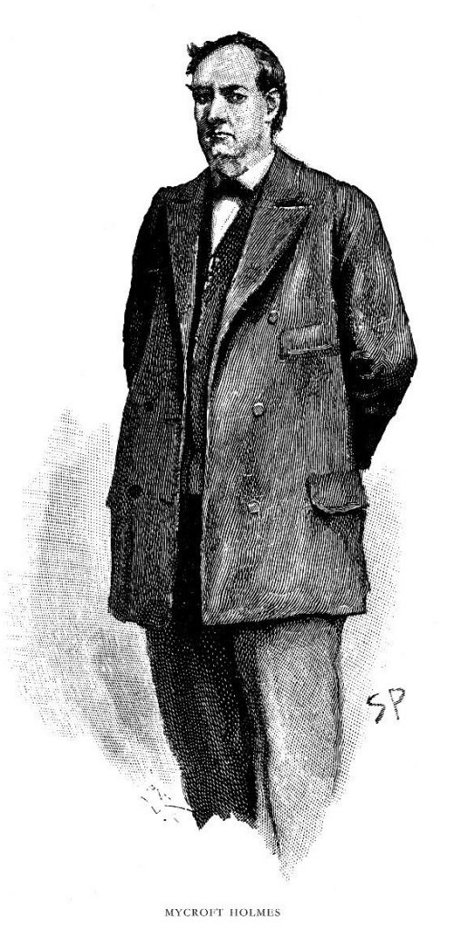Mycroft Holmes, by Sidney Paget.